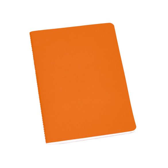 Notepad, Recycled cardboard, Orange