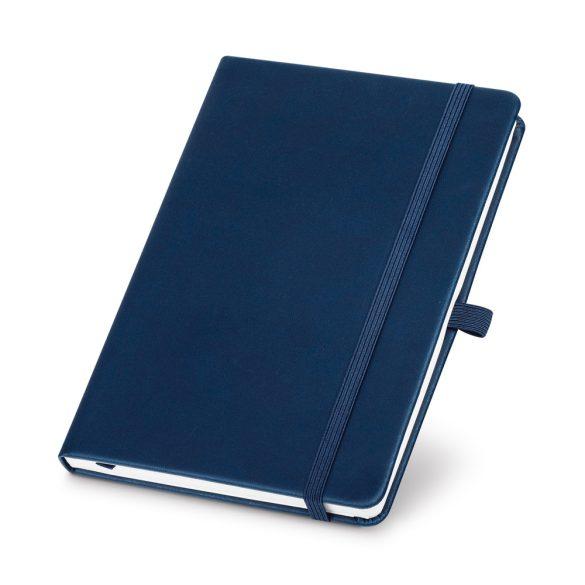 Agenda A5 cu elastic, 192 pagini dictando, Everestus, 20FEB1262, Hartie, Albastru