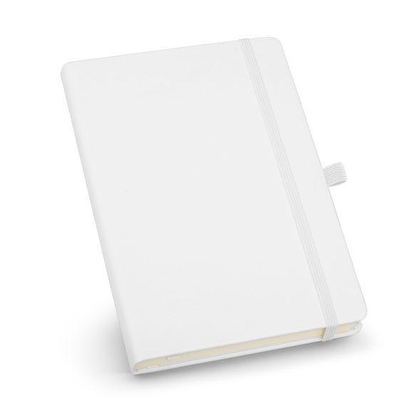 Agenda A5 cu elastic, 192 pagini dictando, Everestus, 20FEB1267, Hartie, Alb