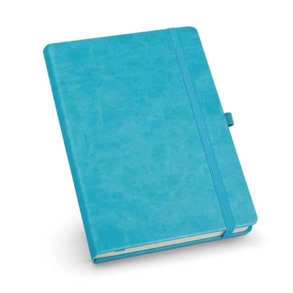 Agenda A5 cu elastic, 192 pagini dictando, Everestus, 20FEB1264, Hartie, Albastru