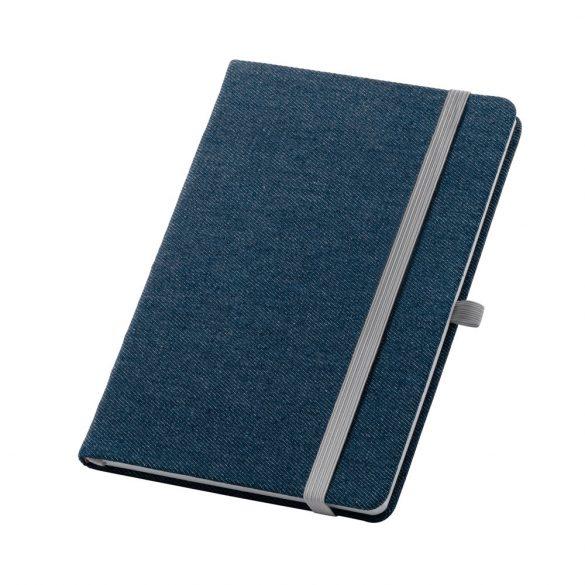 Agenda A5 cu coperta tare, 192 pagini dictando, Everestus, 20FEB1245, Tesatura, Albastru