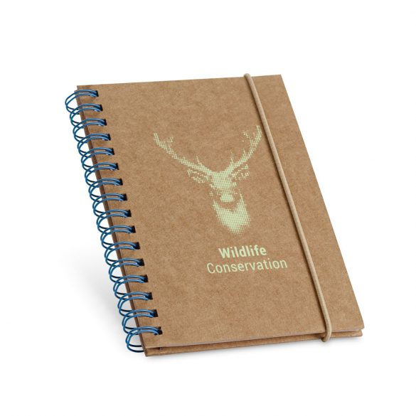 Notepad, Cardboard, Light blue