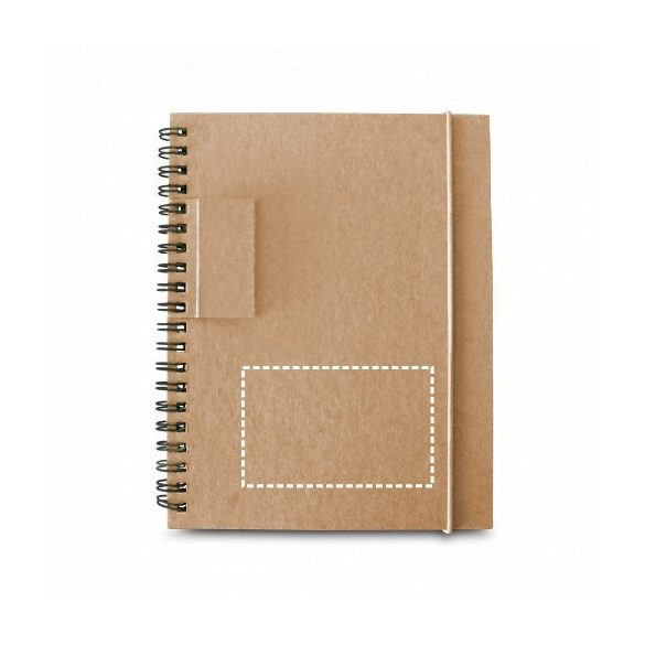 GARDEN. Notepad, Cardboard, Red