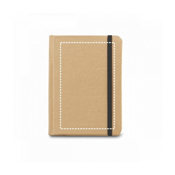 Notepad, Cardboard, Black