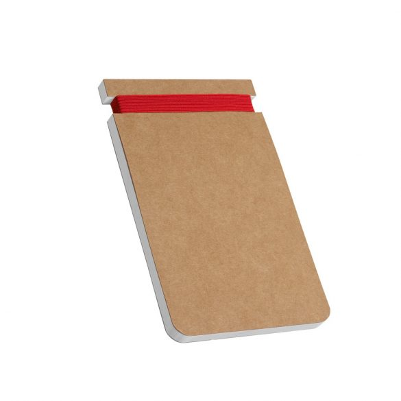 WILDE. Notepad, Cardboard, Red