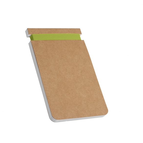 WILDE. Notepad, Cardboard, Light green