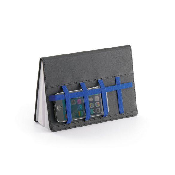 Agenda B5 cu pagini veline, coperta tare, Everestus, KA02, piele ecologica, albastru