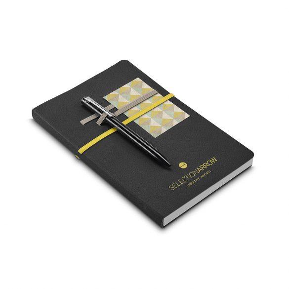 Agenda A5 cu pagini veline, Everestus, RS05, piele ecologica, galben