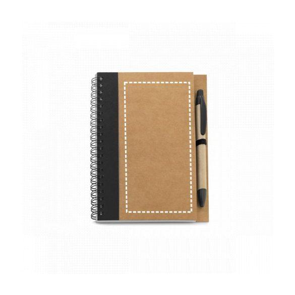 Notepad, Kraft paper, Black