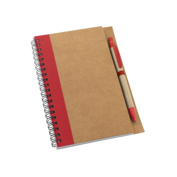 Notepad, Kraft paper, Red