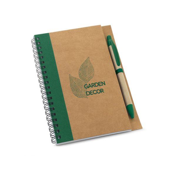 Notepad, Kraft paper, Green