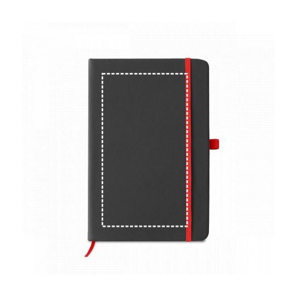 Notepad, Imitation leather, Light grey
