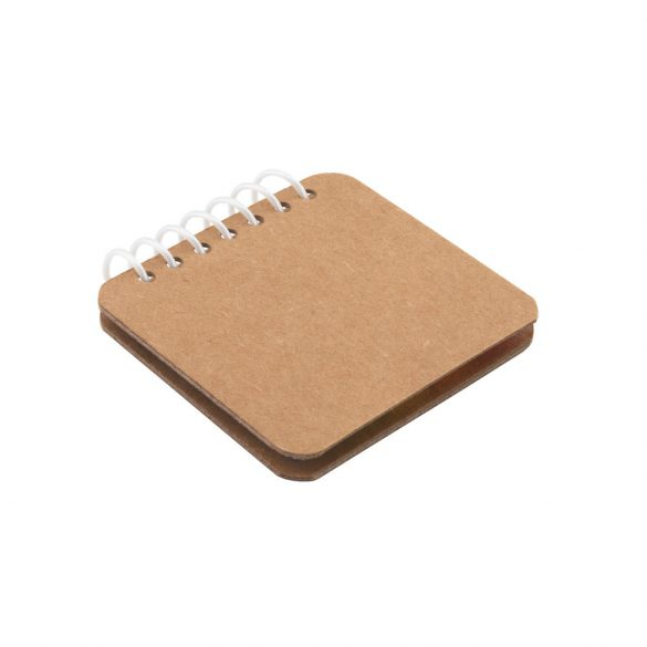 Sticky notes set, Kraft paper, Natural