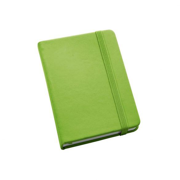 Notepad, Imitation leather, Light green