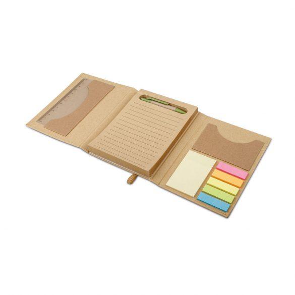 Office set, Cardboard, Natural