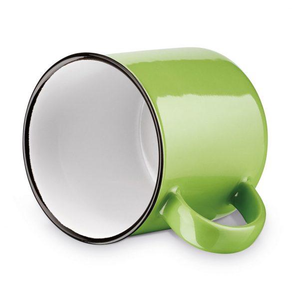 Cana 360 ml, Everestus, 20FEB0843, Ceramica, Verde
