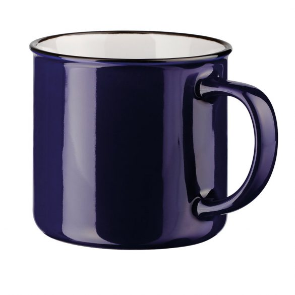 Cana 360 ml, Everestus, 20FEB0844, Ceramica, Albastru