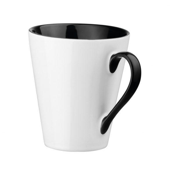 Cana 350 ml, Everestus, 20FEB0780, Ceramica, Negru