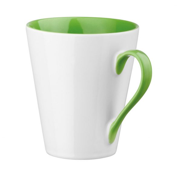 Cana 350 ml, Everestus, 20FEB0782, Ceramica, Verde