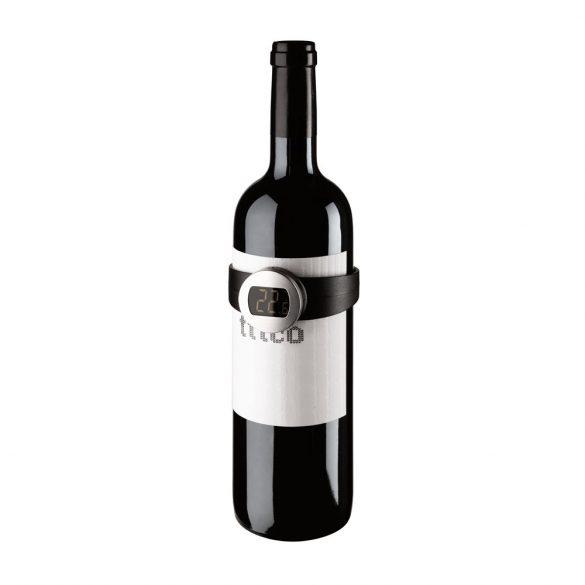 Termometru digital pentru vin, Everestus, AWE01, otel inoxidabil, abs, negru