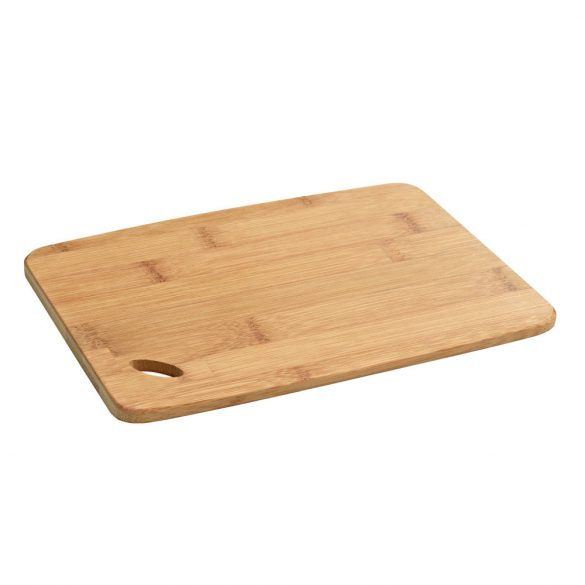 Platou pentru branzeturi 30x20x0.9 cm, dreptungiular, Everestus, PB06, bambus, natur