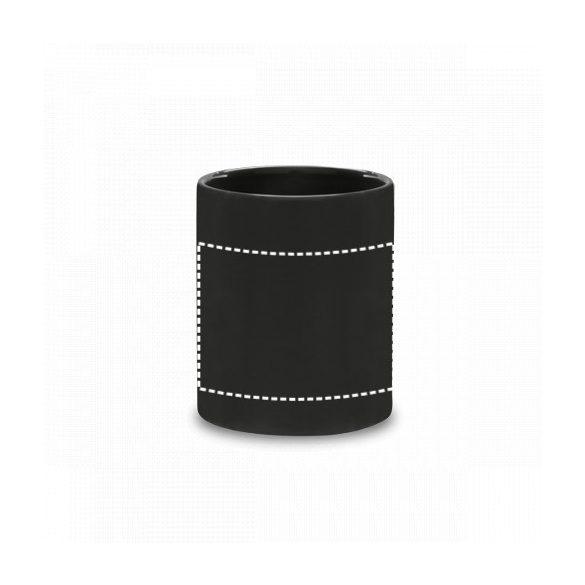 Mug, Ceramic, Black