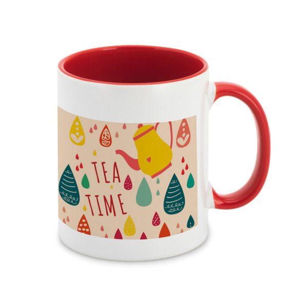 Mug, Ceramic, Red