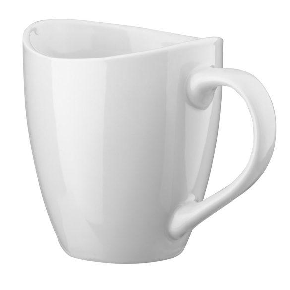 Cana 310 ml, Everestus, 20FEB0795, Ceramica, Alb