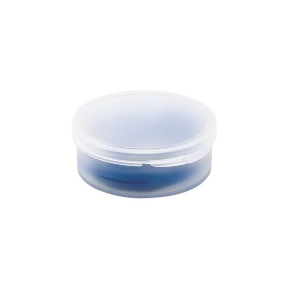 Pai reutilizabil din silicon 100%, in cutie de polipropilena, Everestus, 20FEB1116, Albastru