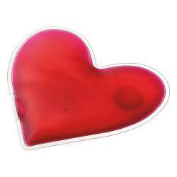 Compresa calda in forma de inima, Everestus, 20FEB0927, PVC, Rosu