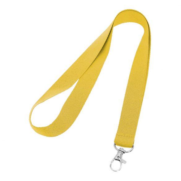 Lanyard, Polyester, Yellow