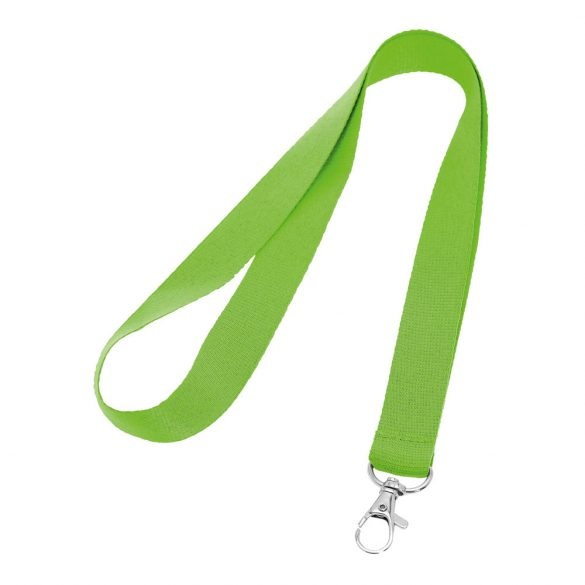 Lanyard, Polyester, Light green