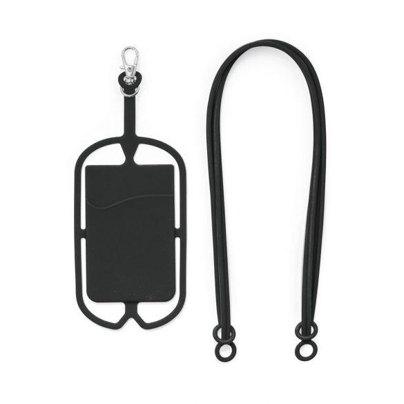 Card holder, Silicone, Black