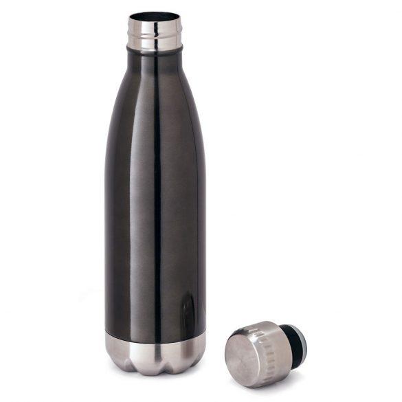 Sticla de apa sport 510 ml, perete dublu, Everestus, 20FEB1108, Otel, Gri