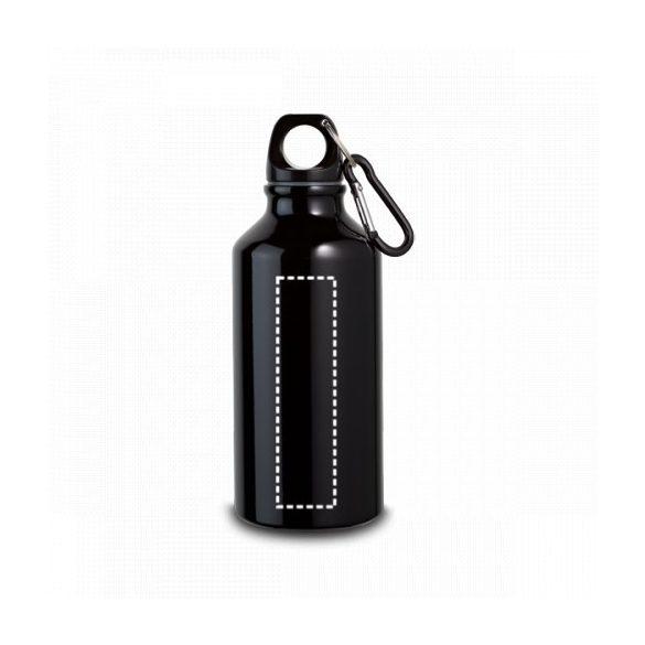 Sports bottle, Aluminium, White