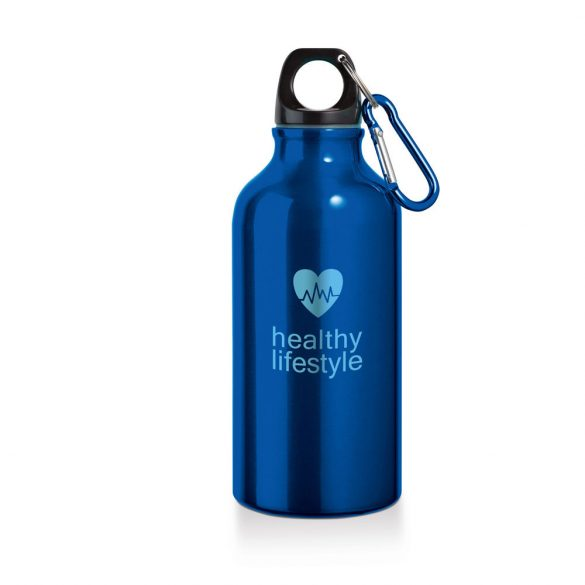 Sports bottle, Aluminium, Blue