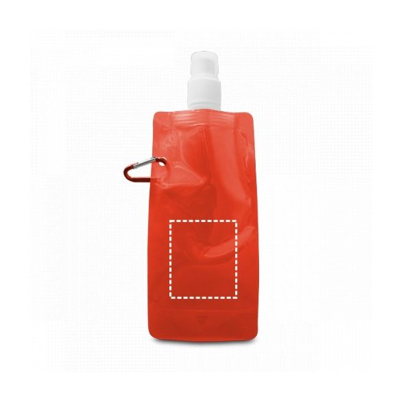 Folding bottle, PE, Yellow