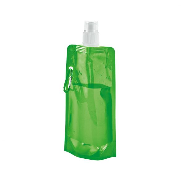 Folding bottle, PE, Light green