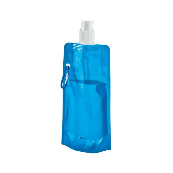 Folding bottle, PE, Light blue