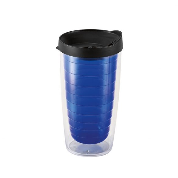 Travel cup, PP, Blue