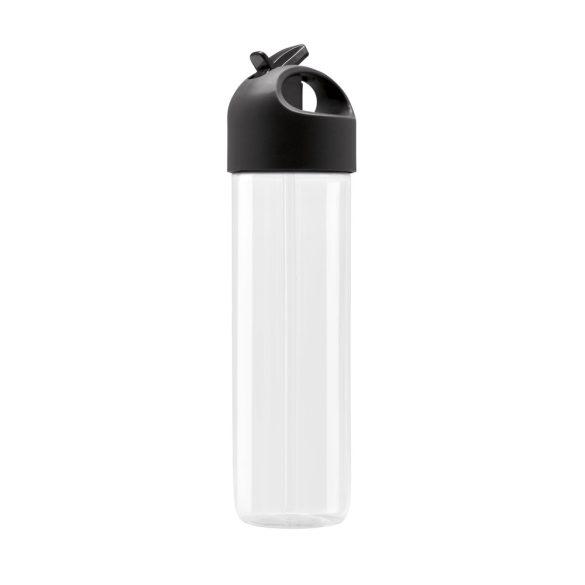 Sticla de apa 500 ml, Everestus, 20IAN1452, Negru, Plastic