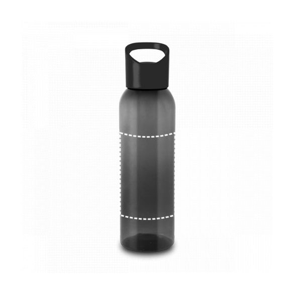 Sports bottle, PP and PS, Black