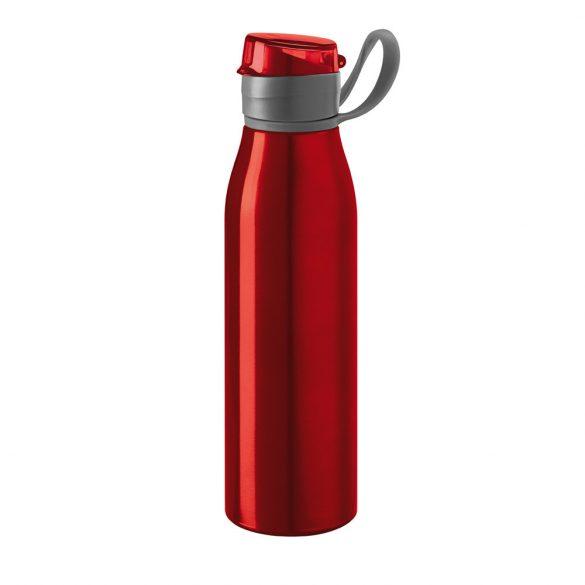 Bidon de apa sport 650 ml, Everestus, 20FEB1095, Aluminiu, Styren acrylonitril, Rosu