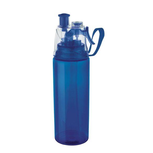 Sticla sport cu vaporizator, 600 ml, Everestus, SB07, plastic, abs, albastru