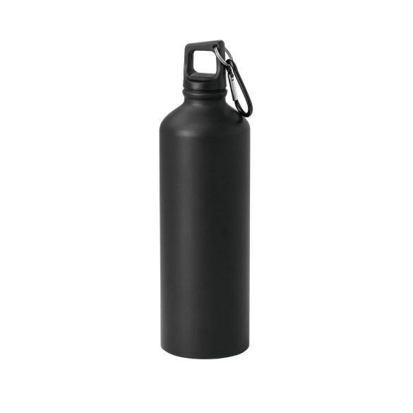 Sticla sport 750 ml cu carabina, Everestus, SB25, aluminiu, negru