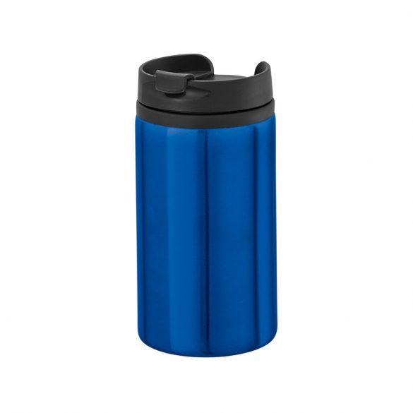 Cana de voiaj 310 ml cu baza antiderapanta, Everestus, 20IAN1544, Albastru, Otel, Polipropilena