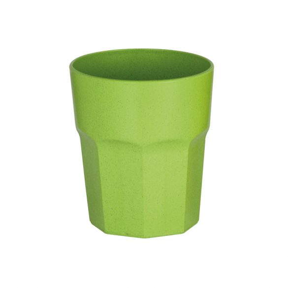 Cup, Rice fiber and PP, Light green