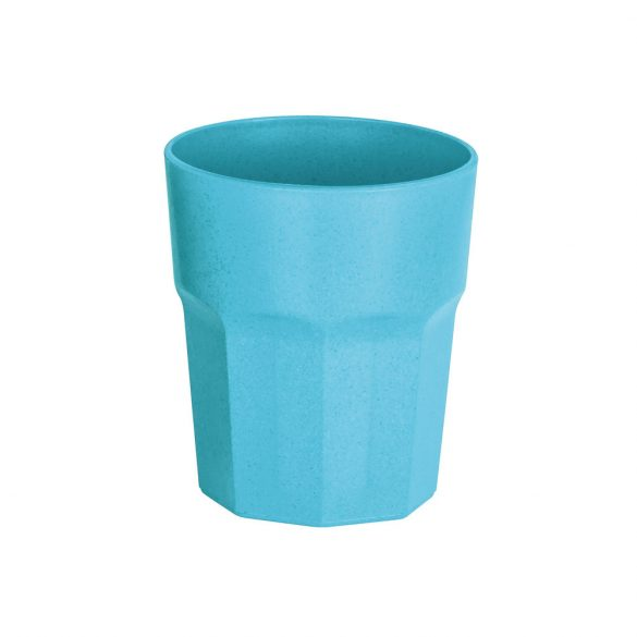 Cup, Rice fiber and PP, Light blue