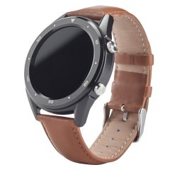THIKER II. Smart watch, Leather, Brown
