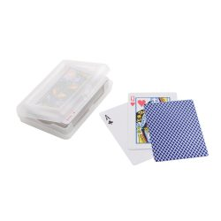 Pack of 54 cards, Laminated paper, Blue